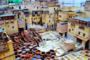 Tannery Fes Stylia Tours Morocco